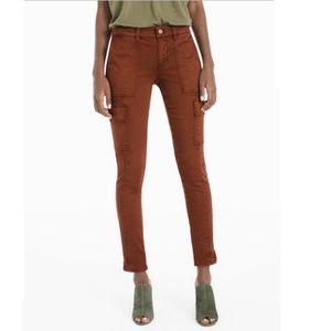 White House Black Market Cargo Skimmer jeans 12